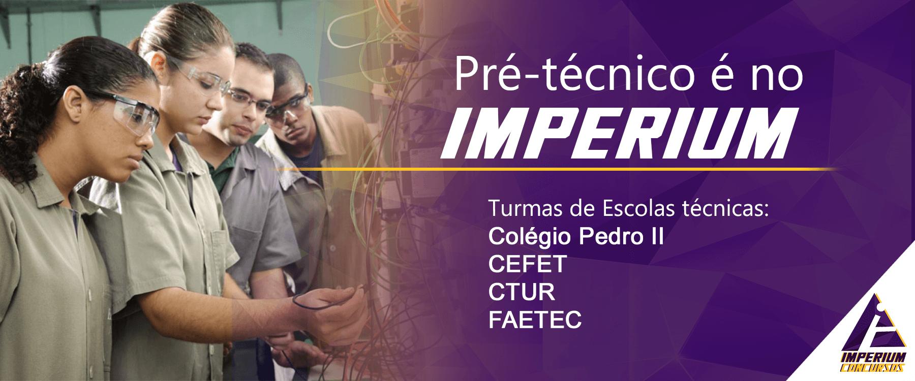 Pré-técnico Imperium Concurso